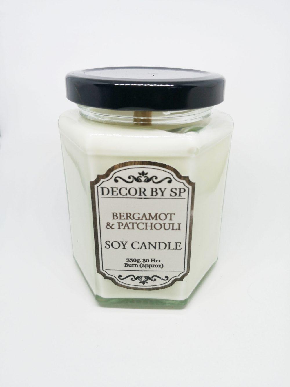 Kvapni zvake bergamote ir paciulis